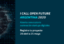 CALL OPEN FUTURE Argentina 2020